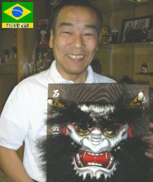 在ブラジル島根県人会副会長の古田川英雄さん(64)