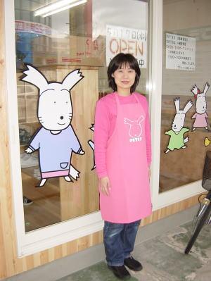 吉木組専務の奥様である吉木久恵さん