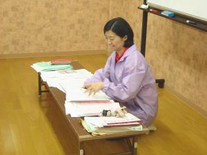 ベテラン保育士であるプティットの宇多川社長もかけつけてスタッフ研修