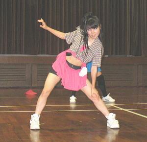 教室生の踊り