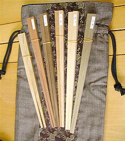 自分で仕上げるマイ箸キット「雲南の箸」