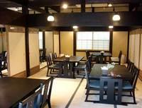 江戸末期の古民家を移築したお食事処やまてらし