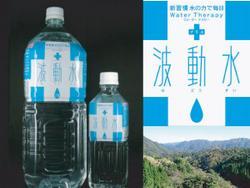 「+波動水」について?水は体を変える?