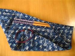 箸と手造り箸袋のセット