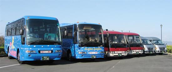 貸切りバス、観光バス